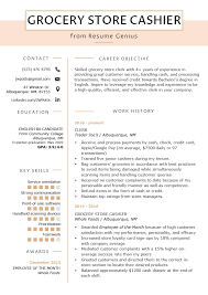 Grocery Store Cashier Resume Example & Tips | Resume Genius Cashier Supervisor Resume Samples Velvet Jobs And Complete Writing Guide 20 Examples All You Need To Know About Duties Information Example For A Job 2018 Senior Cashier Job Description Rponsibilities Stibera Rumes Pin By Brenda On Resume Examples Mplate Casino Tips Part 5 Ekbiz Walmart Jameswbybaritonecom Restaurant Descriptions For Best Of Manager Description Grocery Store Cover Letter Sample Genius