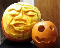 Pumpkin Contest Winners by The Creepy Tongue Pumpkin