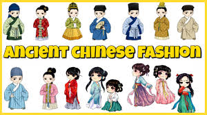 chinese fashion through the dynasties youtube