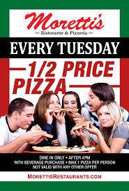 Moretti s Ristorante & Pizzeria The Best Pizza In Chicago