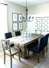 Farm Table Dining Room Sets Style Great