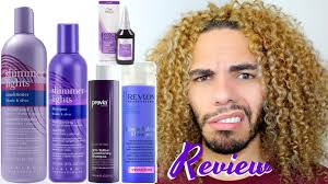 Which Purple & Blue Shampoo And Toner Works Clairol Shimmer Lights