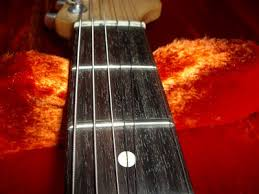 The First Five Frets Usually Have Greatest Amount Of Wear But Is Not Limited To This Region Alone Example A Guitar That In Decent