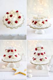 Christmas Tree Meringues Uk by Meringue Christmas Tree With Whipped Coconut Cream And Mulled Port