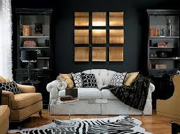 choosing living room colors with black furniture designs ideas