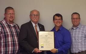 Kentucky Labor Cabinet Secretary by Kentucky Governor U0027s Safety Award Recognition Earned Blog