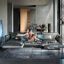licht luxus mikrofaser leder sofa samt unten wohnzimmer