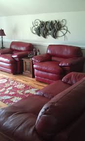 Bradington Young Leather Sofa Ebay by 25 Best Red Leather Couches Ideas On Pinterest Red Leather