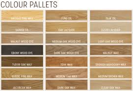 American White Oak Colour Samples