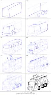 99 How To Draw A Fire Truck Step By Step To A Fighter Printable Step By Step Drawing