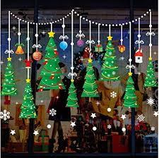 qtxingmu weihnachten wandaufklebern weihnachtsbaum
