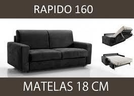 canapé 160 cm canape lit 3 4 places master convertible ouverture rapido 160 cm