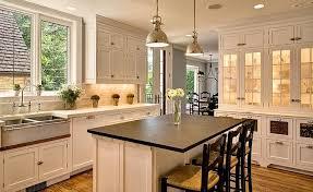walker zanger tribeca marble tiles transitional kitchen