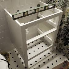 Ikea Hemnes Desk With 2 Drawers by Bathroom Renovation How To Install An Ikea Hemnes Sink Cabinet