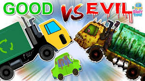 Garbage Monster Truck   Good Vs Evil   Scary Heavy Vehicles ... 20 Garbage Truck Videos For Children Cartoon Enjoy Garbage Truck Wash And Videos For Children Kids Video Elis Bed Youtube Excavators Work Under The River Dump Kids Car Best Trucks Of 2014 Teaching Colors Learning Basic Colours Video Progressive Front Loader Pickup Book Reading I Am A Truck Peterbilt 320 Heil Durapack 5000 Rear Load L Recycling Toy Trash