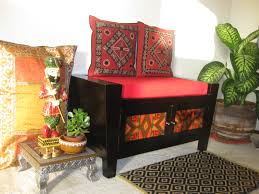 Elle Decor Trendsetter Sweepstakes by Love The Wooden Jali Headboard Indian Homes Indian Decor
