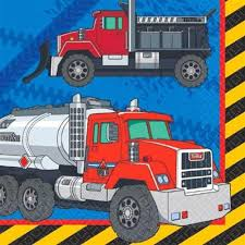 100 Tonka Truck Birthday Party S Lunch Napkins Supplies 16 Per Package