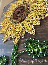 Sunflower Bath Gift Set by Sunflower String Art Kit Diy Kit Crafts For Adults Diy
