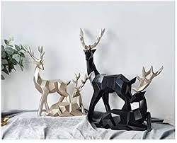 andensoner kunst kreative abstrakte skulptur paar hirsch