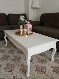 weisser vintage couchtisch tisch für wohnzimmer
