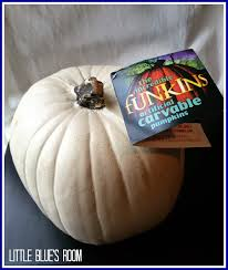 Fake Carvable Pumpkins by Little Blue U0027s Room