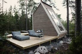 100 Minimalist Cabins A Tiny House With A Living Room In The Heart Of Finland