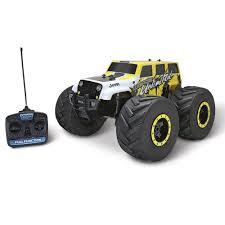100 Rc Truck With Plow The RC Stunt Monster Hammacher Schlemmer