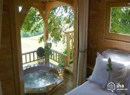 chambre arbre location cabane dans un arbre à montauban iha 77249