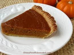 Pumpkin Pie With Gingersnap Crust Gluten Free by Pumpkin Pie Gluten U0026 Dairy Free The Gluten Free Homemaker