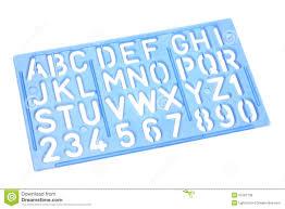 Phi Letter Stencil