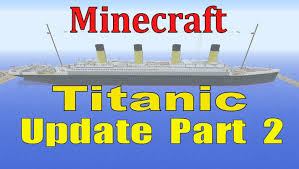 Minecraft Titanic Sinking Animation by 100 The Sinking Of The Britannic Minecraft 100 Years Ago A
