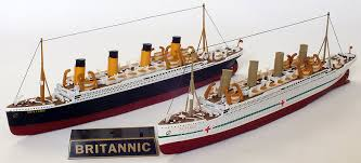 Brittanic Sinking by Efe Zone 980 Gilbow White Star Line Titanic Class Ocean Liner