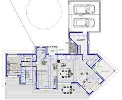 maison plain pied 5 chambres plan maison plain pied 3 chambres gratuit 7 plan maison cubique