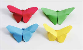 Decoration Origami How To Make Art And Craft Work With Paper Butterfly Easy Do Wall