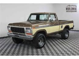Classifieds For 1977 To 1979 Ford F150 - 14 Available | Ford 4x4 ... My 1979 F150 4x4 The Ranger Station Forums This Blue White F100 Has Aged Gracefully Fordtruckscom 81979 Truck Green 1973 Ford 1978 Ford Truck Brochure Pickup For Sale Classiccarscom Cc1077730 F150 98mm 1999 Hot Wheels Newsletter Junkyard Find Truth About Cars Bangshiftcom Hold Lohnes Back Coyoteswapped S252 Denver 2016 Bronco Xlt On Ebay Is Very Mostly Original