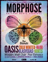 Britpop Music Festival Poster Flyer By ZamfirAugustin