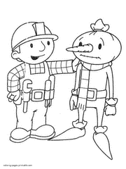 Bob The Builder Coloring Pages 13