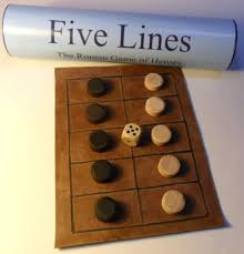 Five Lines Pente Grammai Game Of Heroes Ancient Greek Roman Historic Board Wooden GamesGame BoardsDiy
