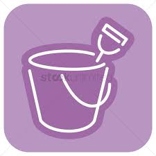 Free Sand Bucket And Spade Vector Graphic