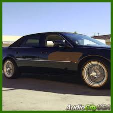 17X8 F W D wire wheel full accessories fit cadillac DTS STS CTS