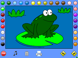 Coloring Pages Online Games Free In A Pretty Frog Leah S Farm Book