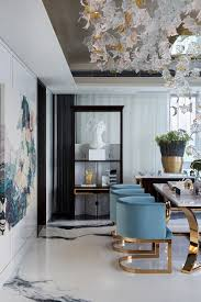 Blue Is Without Doubt The Most Popular Color In World Of Interior Design And A Favorite Modern Dining Rooms