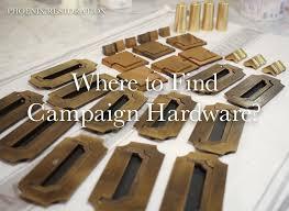 Drexel Heritage Dresser Hardware by Vintage Replacement Campaign Hardware Phoenix Restoration