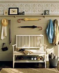 MudroomIkea Entryway Bench Storage Ideas White Stained Poplar Wood Construction Three Cabinet Chrome Mushroom