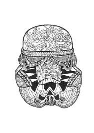 Coloring Page Adult Zen Stormtrooper By Allan Free To Print