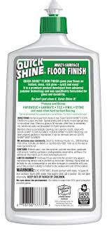 quick shine floor finish 27 fl oz walmart com