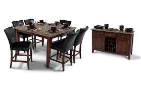 montibello 54 x 54 counter 8 piece set bob s discount furniture