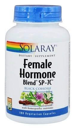 Solaray Female Hormone Blend Black Cohosh - 100ct