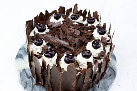 Simple Black Forest Cake recipe
