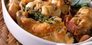 cuisiner du lapin facile lapin rôti à la moutarde et au romarin facile recette sur cuisine